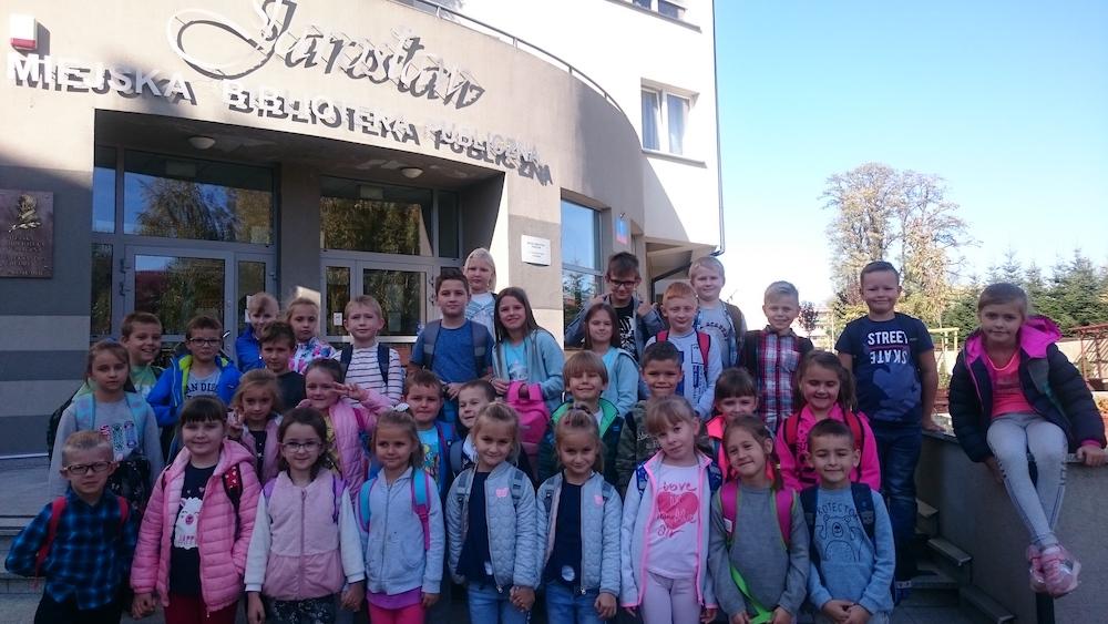 Wyjazd do biblioteki w Jarosławiu