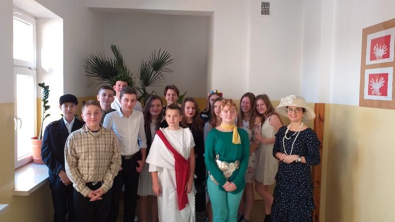 Literackie Spotkanie Mistrzów w klasie VIII