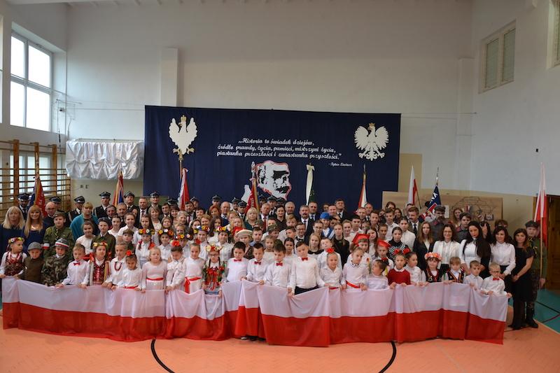 Gminne obchody 101 rocznicy odzyskania przez Polskę Niepodległości