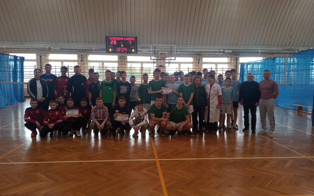 Powiatowe Igrzyska Młodzieży Szkolnej w siatkówce chłopców